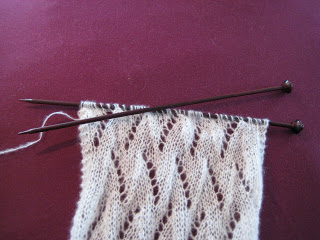 Knit-Along:  Sampler Scarf from It's A Stitch - part 2 1