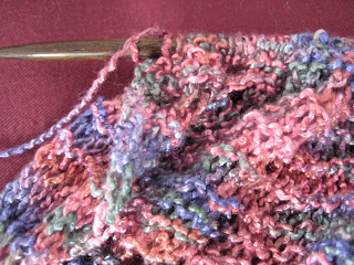 Knit-Along II:  knit's Feather and Fan Shawl 2