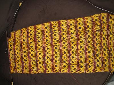 Knit Along:  Urban Beats Scarf - Day 4 1