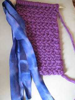 Knit Along: Herringbone Neck Warmer from Nina - Day 2 3