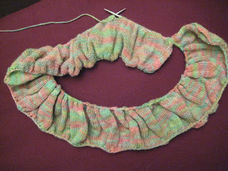 Knit Along:  Peony Scarf from Gabriella's - Day 2 1