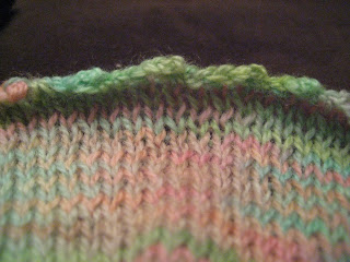Knit Along:  Peony Scarf from Gabriella's - Day 4 1