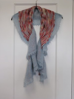 Knit Along:  Peony Scarf from Gabriella's - Day 2 2