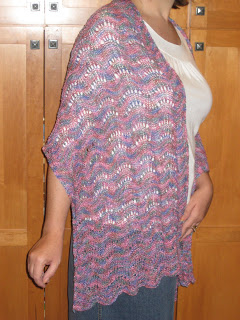 Knit Along:  Peony Scarf from Gabriella's - Day 8 2