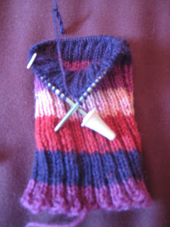 Knit Along:  Socks from Crafty Hands - Day 2 1