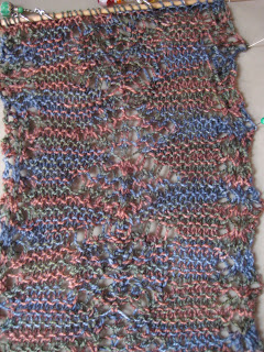 Knit-Along: Elemental Changes Scarf from Aylin's Woolgatherer - Day 3 1