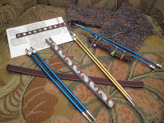 Knit-Along: Elemental Changes Scarf from Aylin's Woolgatherer - Day 6 1