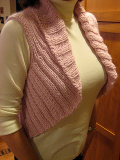 Knit Along: Shawl Collar Vest from Lamb Shoppe - DONE! 6