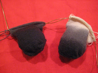 Knit-Along:  Sock Wizard Socks from The Modern Ewe - Day 3 2