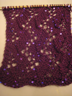 Knit Along:  Traveling Vines Scarf from Magpie Yarns 1