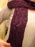 Knit Along:  Traveling Vines Scarf from Magpie Yarns - DONE! 3