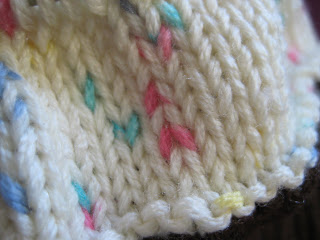 Knit Along:  Cupcake Cutie Hat from Needles 'n Pins - Day 3 1