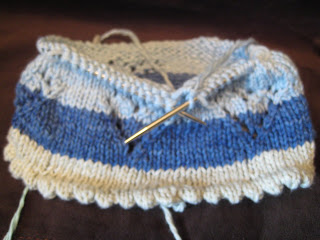 Knit Along:  Sweetie Pie Baby Hat from String Theory Yarn Co. - Day 2 5