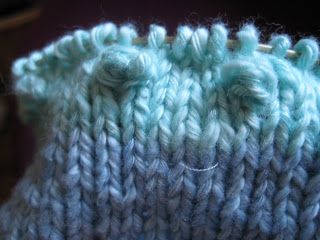 Knit Along: Sweetie Pie Baby Hat from String Theory Yarn Co. - Day 3 6