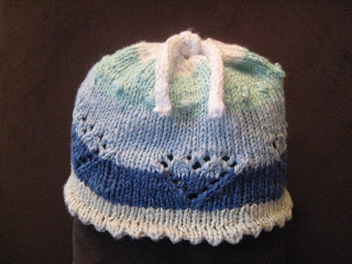 Knit Along:  Sweetie Pie Baby Hat from String Theory Yarn Co. - DONE! 5