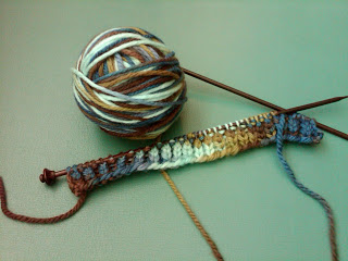 Knit Along:  Mystery Pattern Neck Comforter from Knitche - Day 1 1