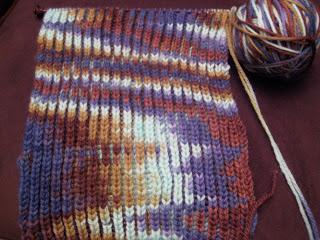 Knit Along:  Mystery Pattern Neck Comforter from Knitche - Day 3 1