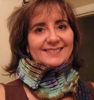 Knit Along:  Mystery Pattern Neck Comforter from Knitche - DONE! 1