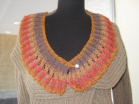Knit Along:  Elizabethan Collar from Kirkwood Knittery - Day 4 2