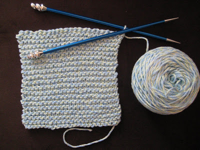 Knit Along:  Plymouth Yarn Market Bag from Knitorious - Day 1 3