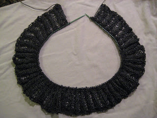 Knit Along:  Elizabethan Collar from Kirkwood Knittery - Day 3 1