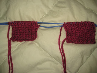 Knit Along: Cabled Hand Mitts from Mass Ave Knit Shop - Day 1 7