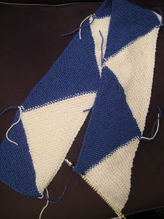 Knit Along:  Super Scarf from Broad Ripple Knits - Day 4 3