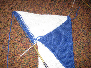 Knit Along: Super Scarf from Broad Ripple Knits - Day 5 and a half... 3