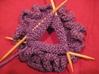 Knit Along:  Knit Nook Knick Knack Sack - Day 2 2