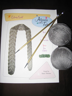 Knit Along:  Galaxy Scarf from Sophie's Fine Yarn Shoppe - Day One 1