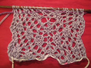 Knit Along:  Galaxy Scarf from Sophie's Fine Yarn Shoppe - Day 2 1