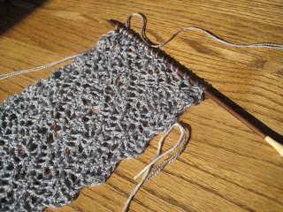 Knit Along: Galaxy Scarf from Sophie's Fine Yarn Shoppe - Day 6 9