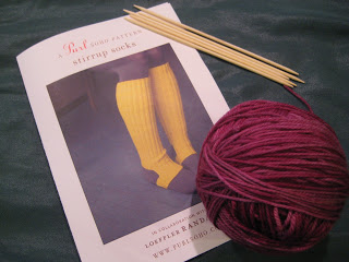 Knit Along:  Stirrup Socks from Purl Soho - Day 1 7