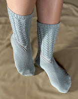 Knit Along:  Arched Gusset Sock from FiberWild - Day 1 1