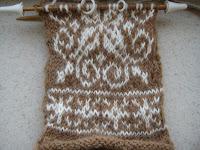 Knit Along:  Winter Wonder Mittens - Day 3 1