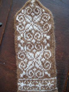 Knit Along:  Winter Wonder Mittens - Day 6 1