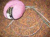 Knit Along:  Arched Gusset Sock from FiberWild - Day 1 2