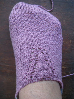 Knit Along:  Arched Gusset Sock from FiberWild - Day 3 2