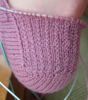 Knit Along:  Arched Gusset Sock from FiberWild - Day 4 2