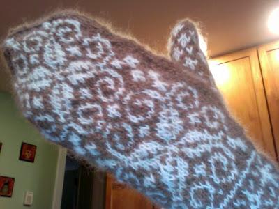 Knit Along:  Winter Wonder Mittens - DONE! 1