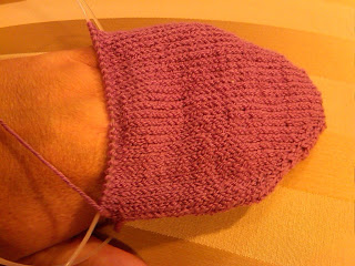 Knit Along:  Arched Gusset Sock from FiberWild - Day 2 1