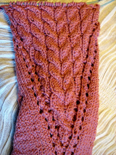 Knit Along:  Arched Gusset Sock from FiberWild - Day 6 1