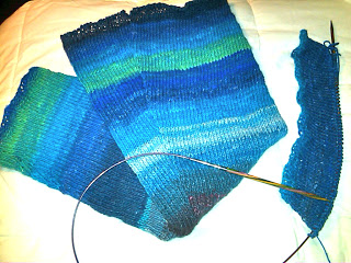Knit Along:  Leg Warmers from The Yarn Company - Day 4 3
