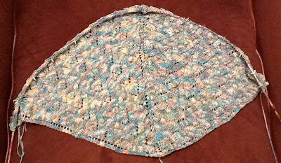 Knit Along: Schmetterling Shawl from Mia Bella--Day 2 5