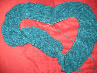 Diagonal Rib Infinity Scarf from Stitch(es) - Day 4 6