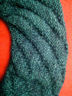 Diagonal Rib Infinity Scarf from Stitch(es) - Day 4 5