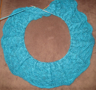 Diagonal Rib Infinity Scarf from Stitch(es) - Day 5 1