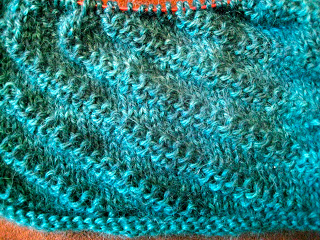 Diagonal Rib Infinity Scarf from Stitch(es) - Day 5 2