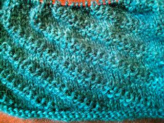 Diagonal Rib Infinity Scarf from Stitch(es) - Day 5 6
