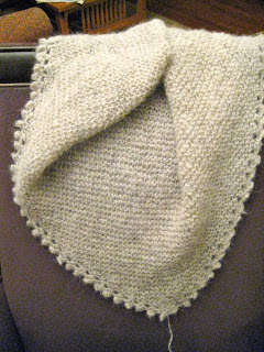 Davis Street Shawl from CloseKnit -Day 4 5